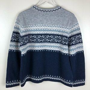 Susan Bristol Sweaters - Susan Bristol Fair Isle Wool Cardigan